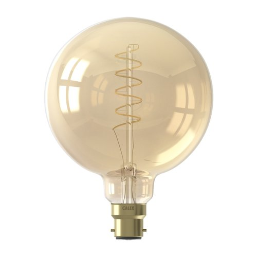 Calex Calex Globe LED Lamp Flex - B22 - 200 Lumen - Goud