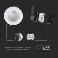 Samsung LED Inbouwspots Samsung 5W – IP65 – 3000K - Geïntegreerd LED