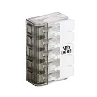 VID Lasklem / Verbindingsklem - 5-voudig - 5x4mm²