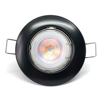 Philips Philips LED Inbouwspot Zwart - Dimbaar & Kantelbaar - 5W