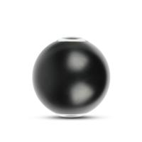 Lightexpert.nl LED Wandlamp Globe Dubbelzijdig Lichtgevend Zwart  - 3000K -  6W - IP65