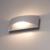 LED Wandlamp Dubbelzijdig Oplichtend Grijs  - 3000K -  6W - IP54