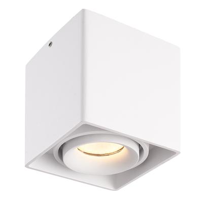 LED Opbouwspot - 5W - 2700K - IP20 - Kantelbaar - Dimbaar - Wit