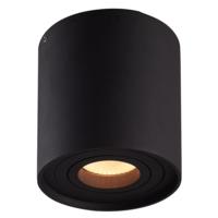 Lightexpert LED Opbouwspot - Smart WIFI - Zwart - Kantelbaar -Rond - IP 20  - Inclusief Smart Spot
