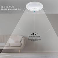 Samsung Samsung LED  Plafondlamp met Bewegingssensor - 12W - 3000K - 800 Lumen - Wit - Ø29 cm