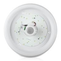 Lightexpert Samsung LED  Plafondlamp met Bewegingssensor - 12W - 4000K - 800 Lumen - Wit - Ø29 cm