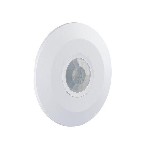 Lightexpert Witte  360° Bewegingssensor Met Schemerschakelaar 6M Bereik