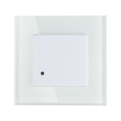Witte Inbouw Bewegingssensor 180° Met Schemerschakelaar 15M Bereik
