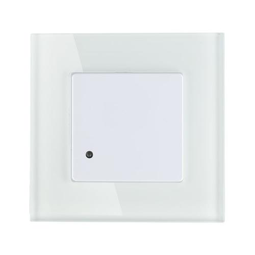 Lightexpert Witte Inbouw Bewegingssensor 180° Met Schemerschakelaar 15M Bereik