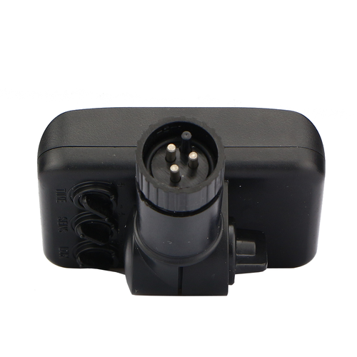 Lightexpert Draadloze Zwarte Bewegingssensor Met Schemerschakelaar IP44