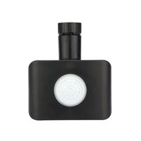 Lightexpert.nl Draadloze Zwarte Bewegingssensor Met Schemerschakelaar IP44