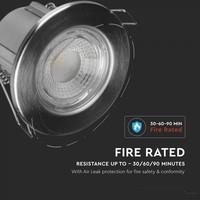 Samsung LED Inbouwspots Samsung RVS 5W – IP65 – 3000K - Geïntegreerd LED - 6 Pack
