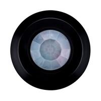 Lightexpert.nl Zwarte  360° Bewegingssensor Met Schemerschakelaar 8M Bereik