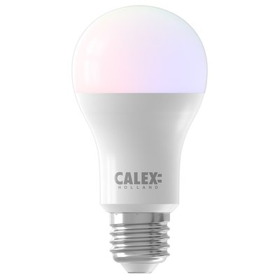 Calex Smart RGB+CCT E27 Led Lamp - Dimbaar - 8.5W