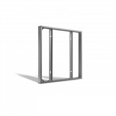 LED Paneel Opbouw - 60x60 - Aluminium  - Wit