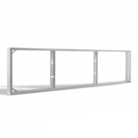 Lightexpert.nl LED Paneel Opbouw - Aluminium - 120x30