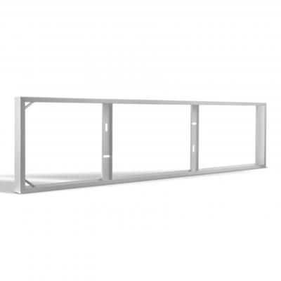 LED Paneel Opbouw - 120x30 - Aluminium - Wit