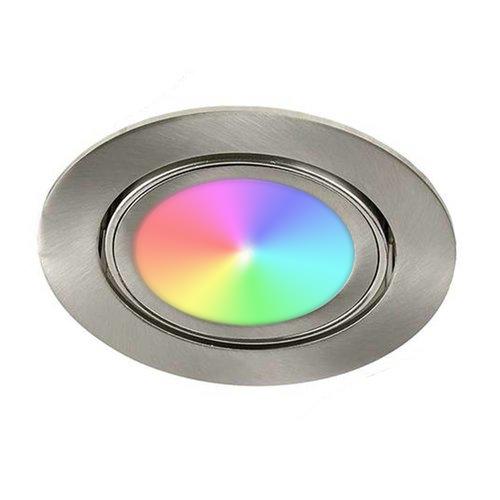 Lightexpert.nl LED Inbouwspots - Lublin - Smart WiFi - Dimbaar - RGBWW