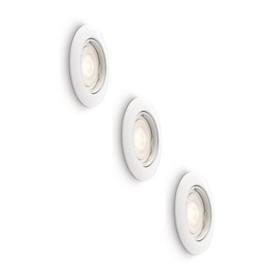 LED Inbouwspots Dimbaar Murillo 6.2W - 3 Pack - Wit