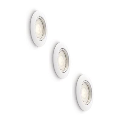 LED Inbouwspots Dimbaar Murillo 5W - 3 Pack - Wit