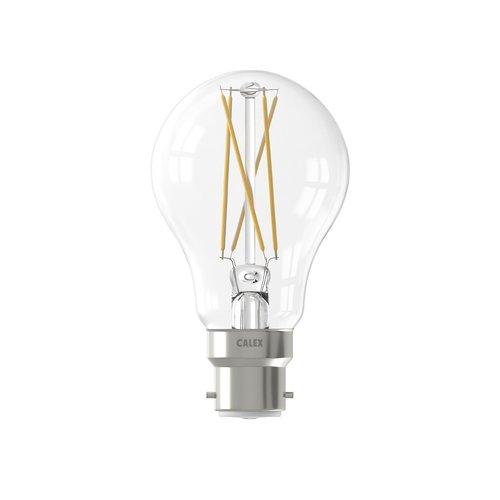 Calex Calex Smart Lamp - B22 - 7W - 806 Lumen - 1800K - 3000K