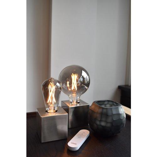 Calex Calex Smart Lamp Titanium - E27 - 7W - 400 Lumen - 1800K - 3000K