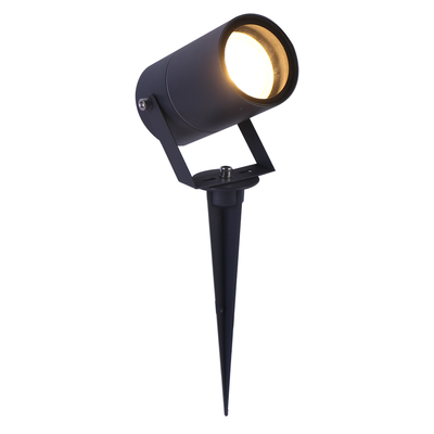 LED Prikspot Antraciet - Aluminium - IP65 - GU10 Fitting