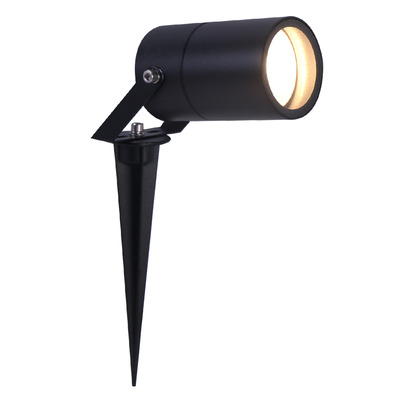 LED Prikspot Zwart - Aluminium - IP65 - GU10 Fitting