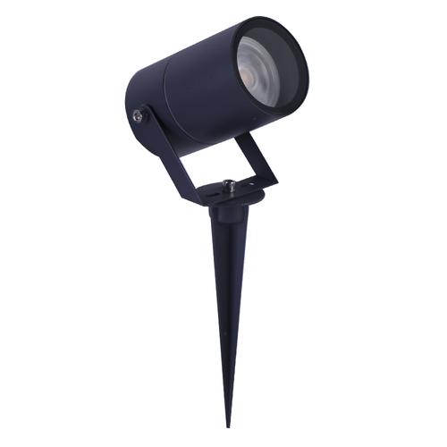 Lightexpert.nl Smart WiFi LED Prikspot – IP65 - GU10 Fitting - Antraciet