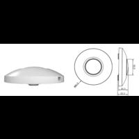 Lightexpert LED Vloerdimmer Wit 0-50 Watt 220-240V - Fase Afsnijding