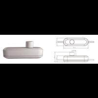 Lightexpert LED Snoerdimmer Wit 0-50 Watt 220-240V - Fase Afsnijding