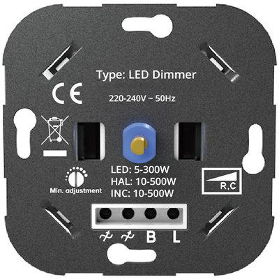 LED Dimmer 5-300 Watt 220-240V - Fase Aan & Afsnijding