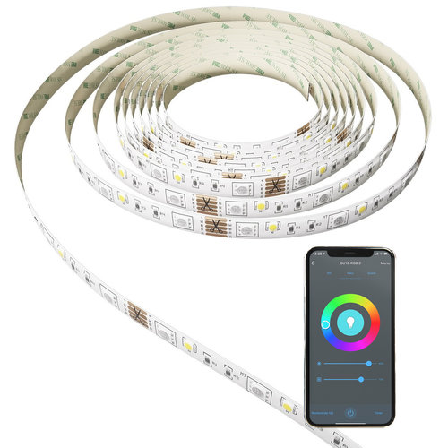 Calex Calex Smart RGBWW LED Strip 5M - Plug & Play
