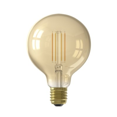 Calex Smart LED Filament Gold Globe-lamp G95 7W