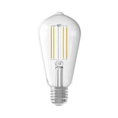 Calex Smart LED Filament Clear Rustic-lamp 7W