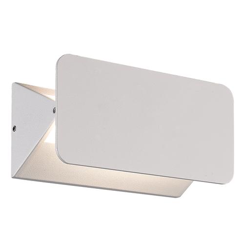 Lightexpert LED Wandlamp Buiten Toledo  Wit - 3000K - 6W - IP54