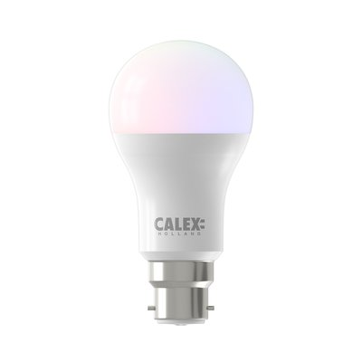 Calex Smart Lamp RGB + CCT - B22 - 8.5W - 806 Lumen - 2200 - 4000K