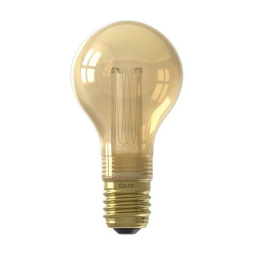 Calex Calex Standaard LED Lamp - E27 - 60 Lumen - Gold