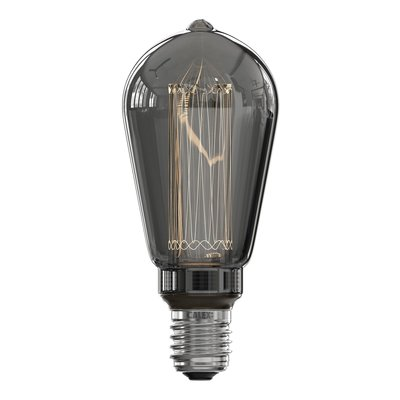 Calex Rustiek LED Lamp - E27 - 40 Lm - Titanium