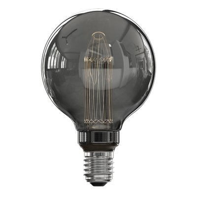 Calex Globe LED Lamp G95 - E27 - 40 Lm - Titanium