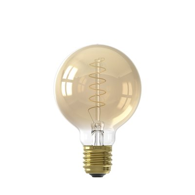 Calex Globe G80 LED Lamp Ø80 - E27 - 200 Lumen - Goud finish