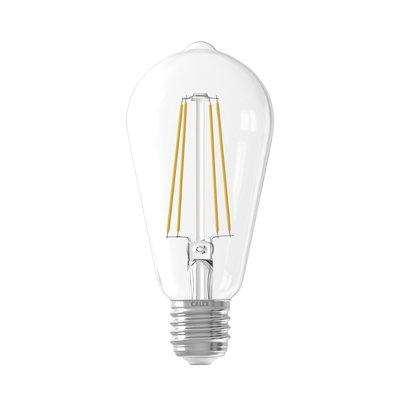 Calex Rustic LED Lamp Warm - E27 - 500 Lm -  Clear
