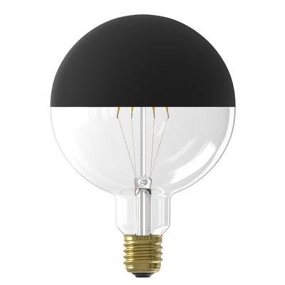 Calex Top Mirror Globe LED Lamp  Ø125 - E27 - 190 Lm - Black