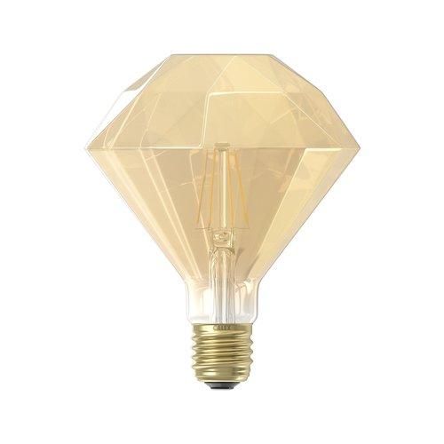 Calex Calex Diamond LED Lamp Warm  - E27 - 320 Lm - Goud