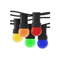 Calex 10m Calex  LED Party Light set  - 10 LED lampen - 1W - 240V