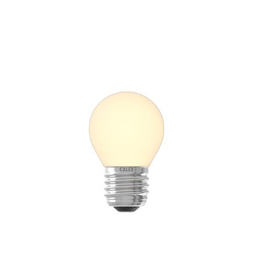 Calex Gekleurde LED kogellamp - 2700K - E27 - 1W - 240V