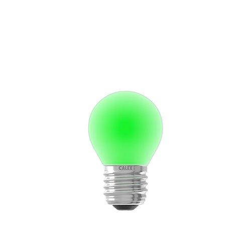 Calex Gekleurde LED kogellamp - Groen - E27 - 1W - 240V