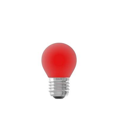 Gekleurde LED kogellamp - Rood - E27 - 1W - 240V