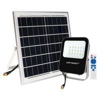 Lightexpert.nl LED Breedstraler Solar 60W - 170lm/W - IP65 - 6400K - 5 Jaar Garantie