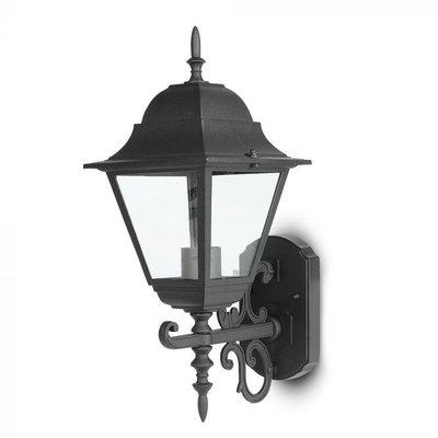 Wandlamp Buiten - Zwart Klassiek - E27